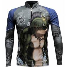 Camiseta De Pesca Uv King Brasil 501