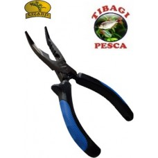 Alicate Multifunção 6″ Bico Curvo Lizard Fishing