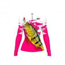 Camiseta Feminina Tucunaré Acu Mar Negro
