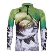 Camiseta De Pesca Uv King Brasil 205