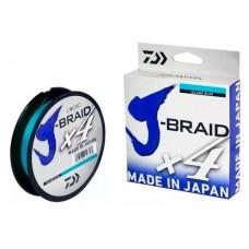 Linha Multifilamento Daiwa J-braid X4 0.21mm 20lb 135m Azul