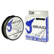 Linha Multifilamento Daiwa J-braid X4 0.29mm 40lb 135m Verde